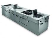 Cuisinière multifonction pour restaurant - Four électrique et/ou cuisinière à gaz