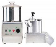 Cutter avec coupe-légumes métallique 1500 tours par minute - R502, R502V.V, R602, R602V.V