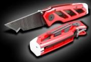 Cutter Carbure professionnel coupe précise - Lame carbure rétractable