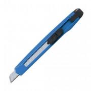 Cutter plastique pour lame 9 mm, système autobloquant, coloris translucide assortis - Safetool