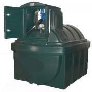 Cuve à doubles parois pour stockage extérieur - Capacité (L) : 2500 - Capacité utile (L) :  2375