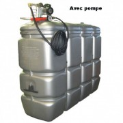 Cuve à fuel 2000 L - Capacité : 2000 L - Dimensions (L x l x h) : 2220 x 720 x 1935 mm