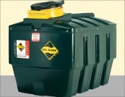 Cuve à huile 1380 L - Collecteur en polyéthylène - Double paroi en PEHD