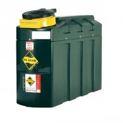 Cuve aérienne pour huiles usagées - Réservoir double paroi - Cuve en polyéthylène - Détecteur de fuite