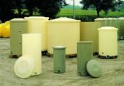 Cuve cylindrique verticale - Capacité : De 150 à 4800 Litres