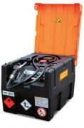 Cuve de distribution essence avec capot - En PEHD - Débit : 52 l.min - Bouchon de remplissage - 12V