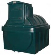 Cuve de stockage à double parois fuel - Capacité (L) : 2500.