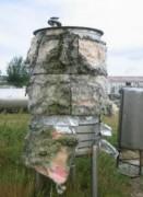 Cuve de stockage à fond bombé occasion - Capacité de stockage des produits liquides : 1018 litres