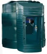 Cuve de stockage anti uv pour extérieur - Capacité (L) : 9000.