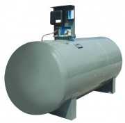 Cuve de stockage cylindrique à station intégrée - Capacité (L) : De 6000 à 15000.