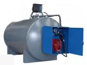 Cuve de stockage cylindrique fuel 6000 à 15000 Litres - Capacité (L) : 6000 - 10000 - 15000.