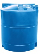 Cuve de stockage d'eau en polyéthylène - Capacité : de 1300 à 9000 litres