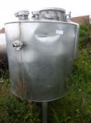 Cuve de stockage double enveloppe occasion - Réservoir cylindrique capacité de stockage 1000 litres