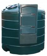 Cuve de stockage double paroi 5000 Litres - Capacité (L) : 5000.