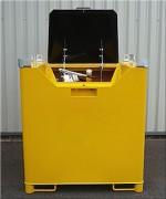 Cuve de stockage double paroi 900 Litres - Capacité (L) : 250 - 500 - 900