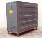 Cuve de stockage en acier rectangulaire - Capacité (L) : 700 - 1150 - 1400