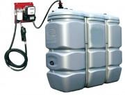 Cuve de stockage fixe pour carburant - Capacité : De 750 - 1425  Litres