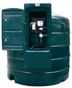 Cuve de stockage fuel avec coffre sécurisé - Débit (l/mn) : 70 - 92.