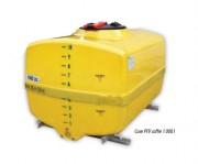 Cuve de stockage PFV - Contenance : de 300 à 5000 L