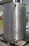 Cuve double enveloppe 500 litres occasion - Réservoir en acier inox pour stockage produits liquides