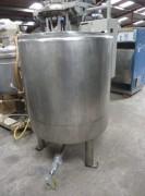 Cuve double enveloppe à fond plat occasion - Réservoir capacité de stockage 600 litres