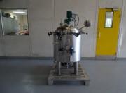 Cuve double enveloppe pour agitation 150 litres occasion - Cuve pressurisable agitation à vitesse variable