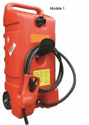 Cuve essence 53 L manuelle - En polyéthylène simple paroi - Débit : 7 l.min