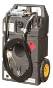 Cuve essence 95 L manuel - Simple paroi - Avec pompe manuelle certifié Atex - Débit : 0.25 L