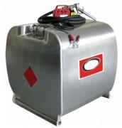 Cuve fuel avec pompe - Capacité (L) : 250 - 350 - 450