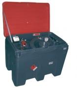 Cuve fuel de ravitaillement - Capacité (L) : 450  - Débit de la pompe : 34 - 48 l/mn.