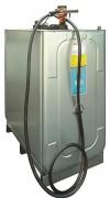 Cuve gasoil 1000 L à rétention intégrée - Capacité : 1000 L - Débit : 35 l.min