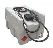 Cuve gasoil 200 L autonome - Débit : 45 l.min - Autonomie de 900 L - Batterie Lithium-Ion 24V