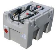 Cuve gasoil 430 litres simple paroi - À brancher sur batterie - Paroi antiroulis