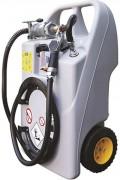 Cuve gasoil 60 litres - En polyéthylène simple paroi - Pompe manuelle
