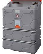 Cuve huile usagée 1000 L pour intérieur - Contenance : 1000 L - Double paroi PE - Sous abri