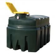 Cuve huiles usagées polyéthylène - Capacité : de 200 à 2500 litres
