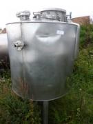 Cuve rectangulaire simple enveloppe 1000 litres occasion - Vanne de vidange en inox