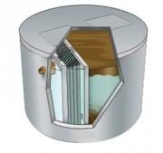 Cuve récupération eaux usées - Disponible jusqu'à 1000EH – Cuve en béton – Faible niveau sonore