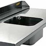Cuve soudée pour table de cuisine - Dimensions (L x l x H) mm : De 400 x 400 x 250 à 600 x 500 x 320