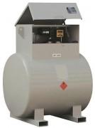 Cuve transport gasoil horizontale - Capacité : 980 litres -  Cuve double paroi en acier