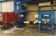 Cyclofiltres atex et cabine de nettoyage - Débit : 600 à 8.000 m3/h