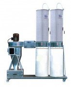 Cyclone séparateur avec filtres et ventilateur