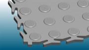 Dalle antidérapante emboitable sans PVC - Grande résistance au roulage intensif