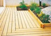 Dalle caillebotis bois diagonale - À face lisse ou à face rainurée
