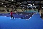 Dalle de revêtement sol terrains tennis - Dimensions (L x h) : 5832 x (33 x 33) cm - Surface : 648 m²