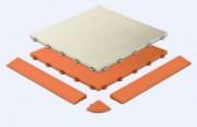 Dalle de sol en polypropylène - Dimensions (cm) : 40 x 40 x 1.8