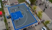 Dalle modulable terrain basket - Usage intérieur et extérieur