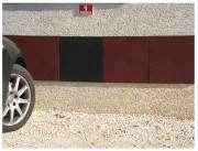 Dalle murale amortissante - Dimensions (L x l x Ep) mm : 1500 x 500 x 20