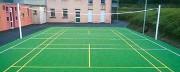 Dalle personnalisée terrain multisports - Confortable et écologique