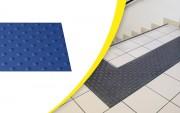 Dalle podotactile auto-adhésive intérieure - Dimensions (L x l) : de 450 x 420 à 420 x 1350 mm